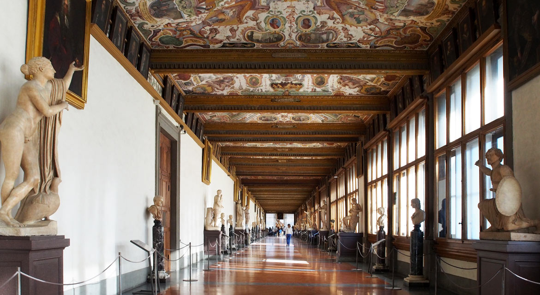 Uffizi Gallery Corridor